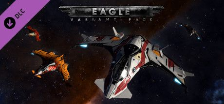 Clickable image taking you to the Steam store page for the Eagle Variant Pack DLC for Elite Dangerous