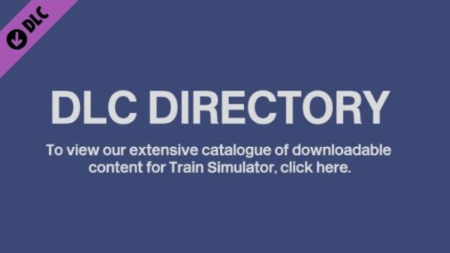 Clickable image talking you to the Train Simulator DLC directory.