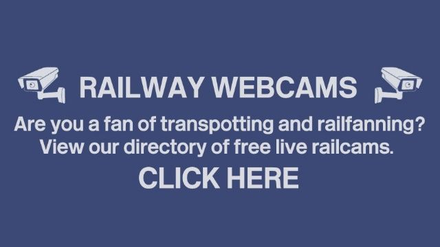 Clickable image taking you to the railway webcam index.
