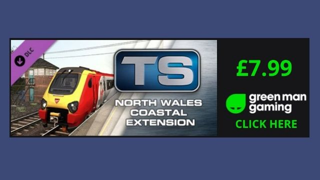 Clickable image for the current deal on Green Man Gaming, North Wales Coastal Route Extension for only £7.99.