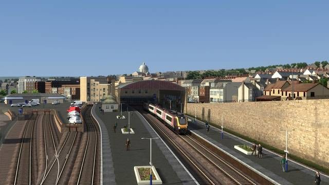 Image showing screenshot of the Cornish Main Line extension to the Western Mainlines route