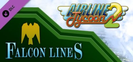Clickable image taking you to the Green Man Gaming store page for the Falcon Airlines DLC for Airline Tycoon 2