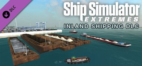 Clickable image taking you to the Green Man Gaming store page for the Inland Shipping DLC for Ship Simulator Extremes