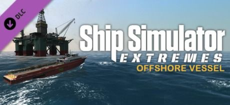 Clickable image taking you to the Green Man Gaming store page for the Offshore Vessel DLC for Ship Simulator Extremes