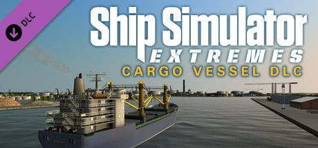 Clickable image taking you to the Steam store page for the Cargo Vessel DLC for Ship Simulator Extremes