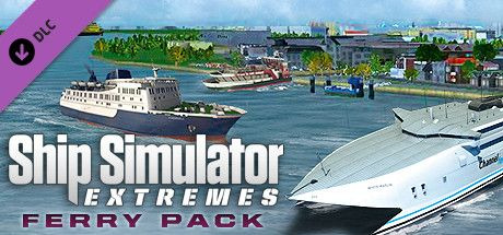 Clickable image taking you to the Green Man Gaming store page for the Ferry Pack DLC for Ship Simulator Extremes