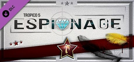 Clickable image taking you to the Green Man Gaming store page for the Espionage DLC for Tropico 5