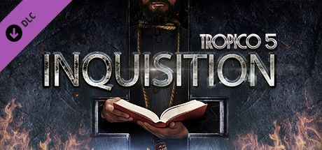 Clickable image taking you to the Green Man Gaming store page for the Inquisition DLC for Tropico 5
