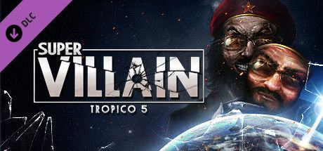 Clickable image taking you to the Green Man Gaming store page for the Supervillain DLC for Tropico 5