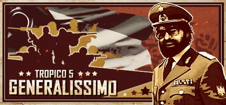 Clickable image taking you to the Steam store page for the Generalissimo DLC for Tropico 5