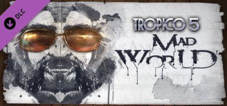 Clickable image taking you to the Green Man Gaming store page for the Mad World DLC for Tropico 5