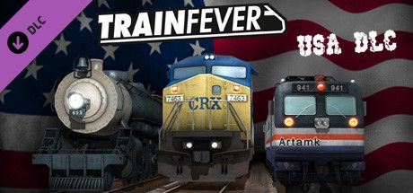 Clickable image taking you to the Steam store page for the USA DLC for Train Fever