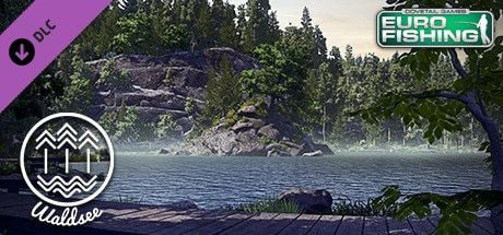 Clickable image taking you to the Steam store page for the Waldsee DLC for Euro Fishing