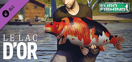 Clickable image taking you to the Steam store page for the Le Lac d'or DLC for Euro Fishing