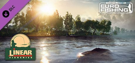 Clickable image taking you to the Steam store page for the Manor Farm Lake DLC for Euro Fishing