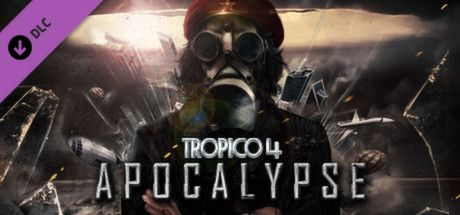 Clickable image taking you to the Green Man Gaming store page for the Apocalypse DLC for Tropico 4