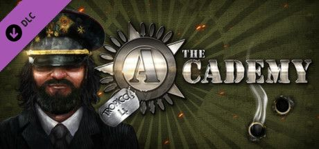 Clickable image taking you to the Green Man Gaming store page for the The Academy DLC for Tropico 4