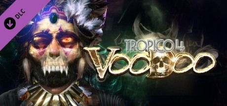 Clickable image taking you to the Green Man Gaming store page for the Voodoo DLC for Tropico 4
