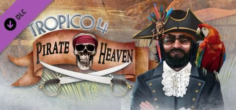 Clickable image taking you to the Green Man Gaming store page for the Pirate Heaven DLC for Tropico 4