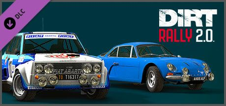 Clickable image taking you to the Steam store page for the H2 RWD Double Pack DLC for Dirt Rally 2.0.