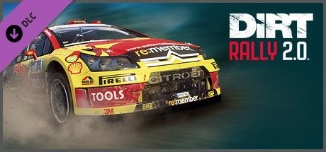 Clickable image taking you to the Steam store page for the Citroën C4 Rally DLC for Dirt Rally 2.0.