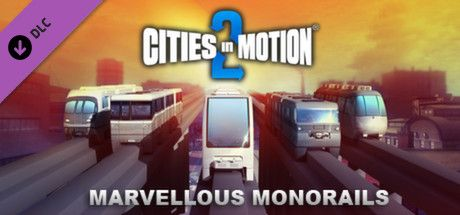 Clickable image taking you to the Green Man Gaming store page for the Marvellous Monorails DLC for Cities in Motion 2