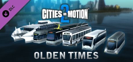 Clickable image taking you to the Green Man Gaming store page for the Olden Times DLC for Cities in Motion 2