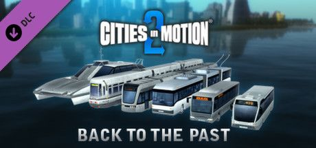 Clickable image taking you to the Green Man Gaming store page for the Back to the Past DLC for Cities in Motion 2