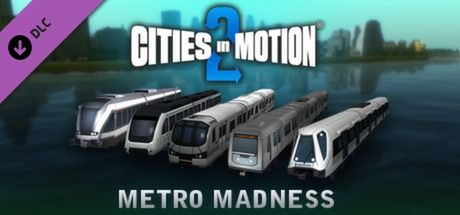 Clickable image taking you to the Green Man Gaming store page for the Marvellous Monorails DLC foge for the Metro Madness DLC for Cities in Motion 2