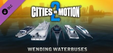 Clickable image taking you to the Green Man Gaming store page for the Wending Waterbuses DLC for Cities in Motion 2