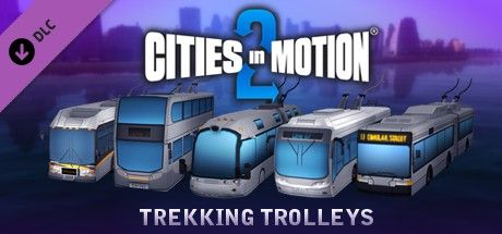 Clickable image taking you to the Green Man Gaming store page for the Trekking Trolleys DLC for Cities in Motion 2