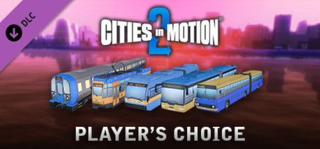 Clickable image taking you to the Green Man Gaming store page for the Players Choice Vehicle Pack DLC for Cities in Motion 2