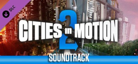 Clickable image taking you to the Steam store page for the Soundtrack DLC for Cities in Motion 2