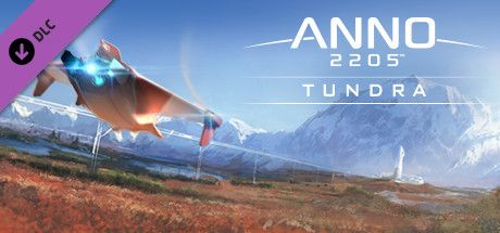 Clickable image taking you to the Steam store page for the Tundra DLC for Anno 2205™