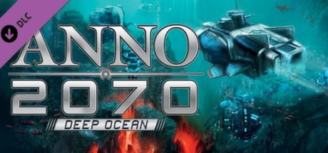 "Clickable image taking you to the Steam store page for the Deep Ocean DLC for Anno 2070â""¢"