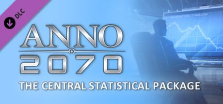 "Clickable image taking you to the Steam store page for the Central Statistical Package DLC for Anno 2070â""¢"