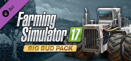 Clickable image taking you to the Steam store page for the Big Bud Pack DLC for Farming Simulator 17