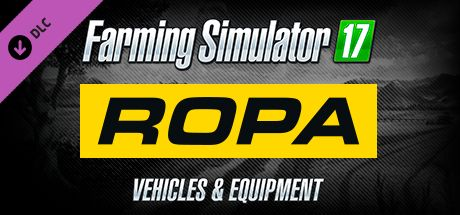 Clickable image taking you to the Steam store page for the ROPA Pack DLC for Farming Simulator 17