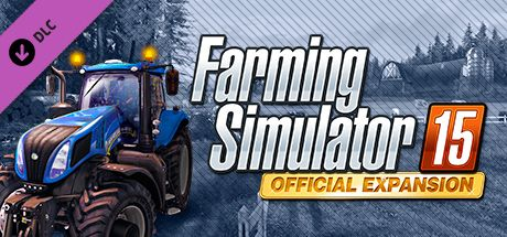 Clickable image taking you to the Steam store page for the Official Expansion (GOLD) DLC for Farming Simulator 15
