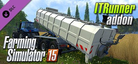 Clickable image taking you to the Steam store page for the ITRunner DLC for Farming Simulator 15