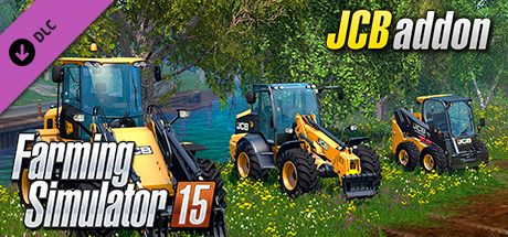 Clickable image taking you to the Steam store page for the JCB DLC for Farming Simulator 15