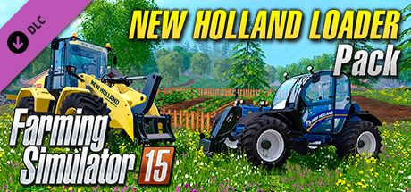 Clickable image taking you to the Steam store page for the New Holland Loader Pack DLC for Farming Simulator 15