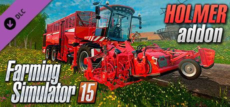 Clickable image taking you to the Steam store page for the HOLMER DLC for Farming Simulator 15