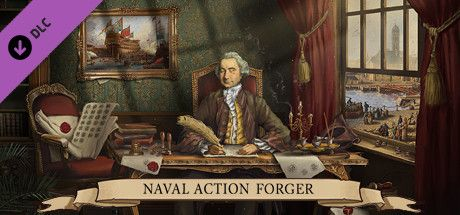 Clickable image taking you to the Steam store page for the Prolific Forger DLC for Naval Action