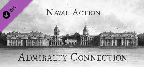Clickable image taking you to the Steam store page for the Admiralty Connection DLC for Naval Action