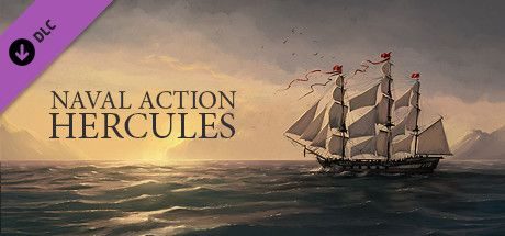 Clickable image taking you to the Steam store page for the Hercules DLC for Naval Action