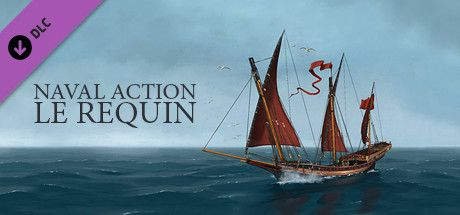 Clickable image taking you to the Steam store page for the Le Requin DLC for Naval Action