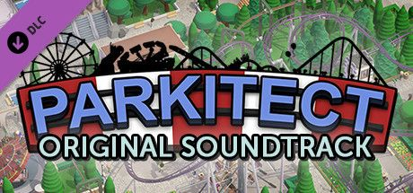 Clickable image taking you to the Steam store page for the Soundtrack DLC for Parkitect