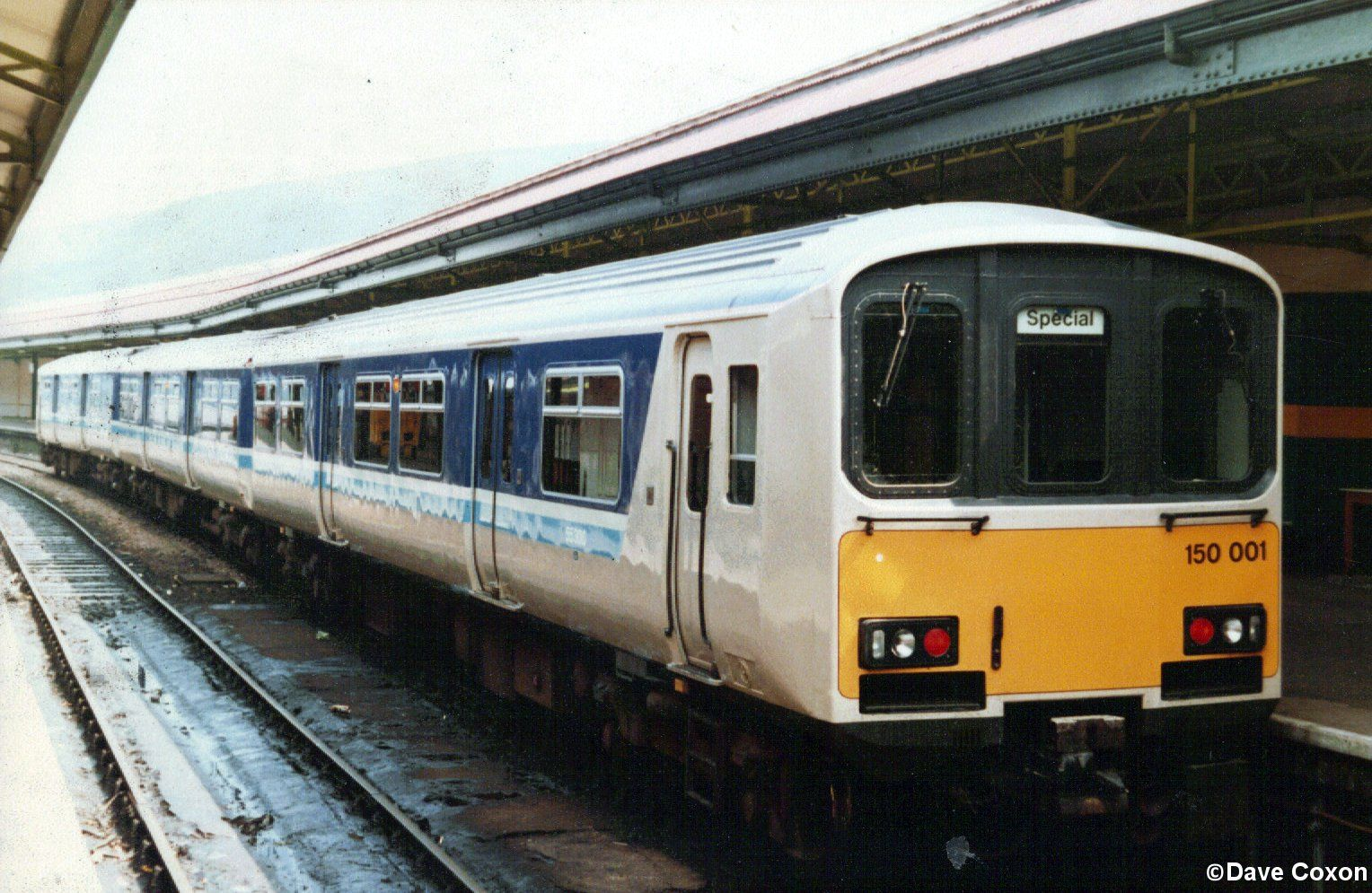 Image showing 150001 in Cardiff Queen Street Station