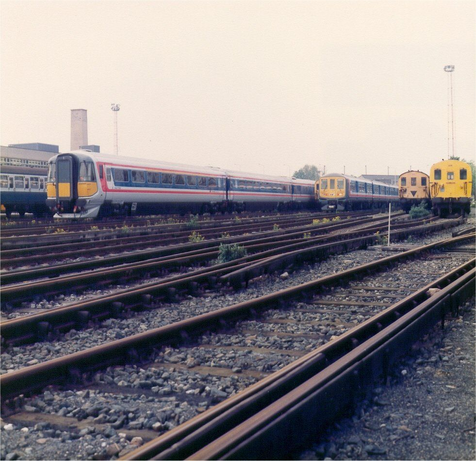 Image showing a class 442 on test pictured at Wimbledon depot in early 1988